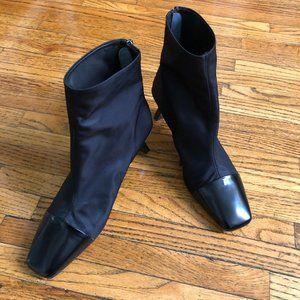 Edita Leather Nylon Hand Carved Boot